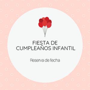 Reserva de fecha para cumpleaños infantil con los ponis