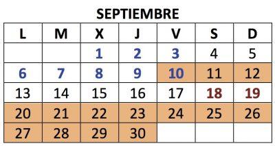Septiembre 21 en San Jorge